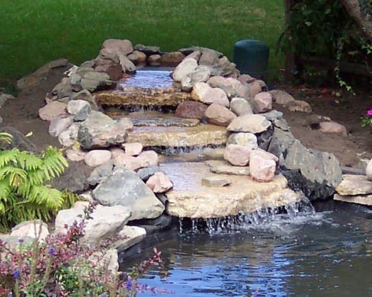 Modern Diy Garden Pond Waterfall Ideas For Backyard 48