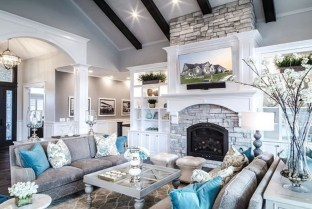 Wonderful Family Room Design Ideas That Comfortable 17