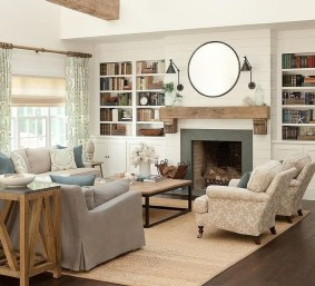 Wonderful Family Room Design Ideas That Comfortable 32