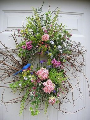 Beautiful Summer Wreath Design Ideas To Try Asap 15