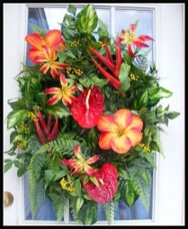 Beautiful Summer Wreath Design Ideas To Try Asap 19