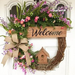 Beautiful Summer Wreath Design Ideas To Try Asap 23