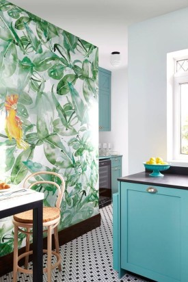 Cool Colorful Kitchen Decor Ideas For Summer 14