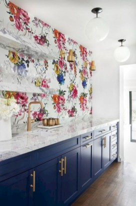 Cool Colorful Kitchen Decor Ideas For Summer 17