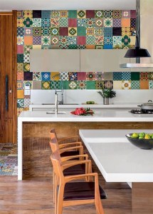Cool Colorful Kitchen Decor Ideas For Summer 19