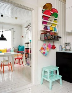 Cool Colorful Kitchen Decor Ideas For Summer 20