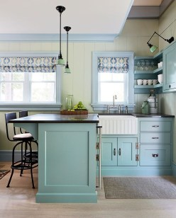 Cool Colorful Kitchen Decor Ideas For Summer 28