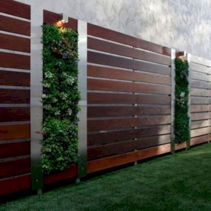 Cool Garden Fence Decoration Ideas To Try This Year 17