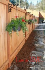Cool Garden Fence Decoration Ideas To Try This Year 32