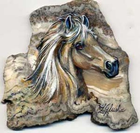 Inspiring Diy Painted Rocks Ideas With Animals Horse For Summer 41