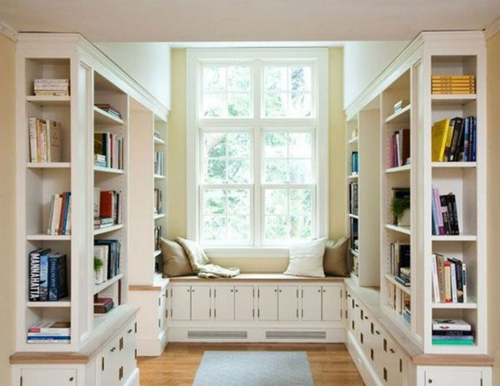 Magnificient Home Design Ideas With Library You Should Keep 19