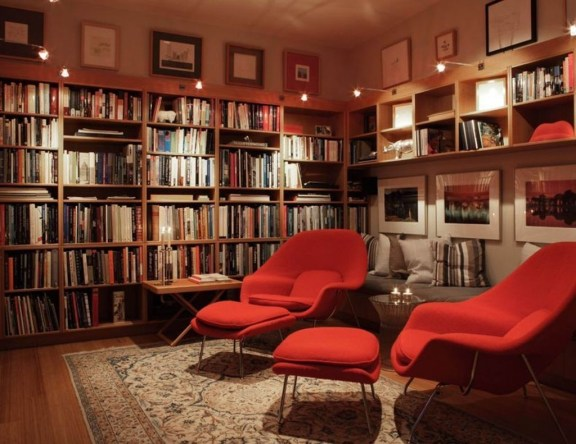 Magnificient Home Design Ideas With Library You Should Keep 23