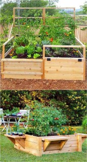 Comfy Diy Raised Garden Bed Ideas That Looks Cool 14
