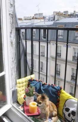 Cool Apartment Balcony Design Ideas For Small Space 09