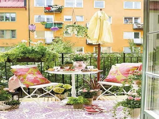 Cool Apartment Balcony Design Ideas For Small Space 43