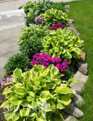 Cozy Rock Garden Landscaping Ideas For Make Your Yard Beautiful 43