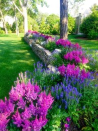 Cozy Rock Garden Landscaping Ideas For Make Your Yard Beautiful 49