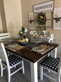 Relaxing Farmhouse Dining Room Design Ideas To Try 12