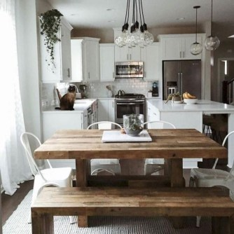 Relaxing Farmhouse Dining Room Design Ideas To Try 16