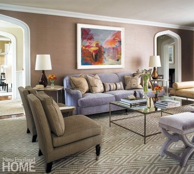 Superb Warm Family Room Design Ideas For This Winter 02