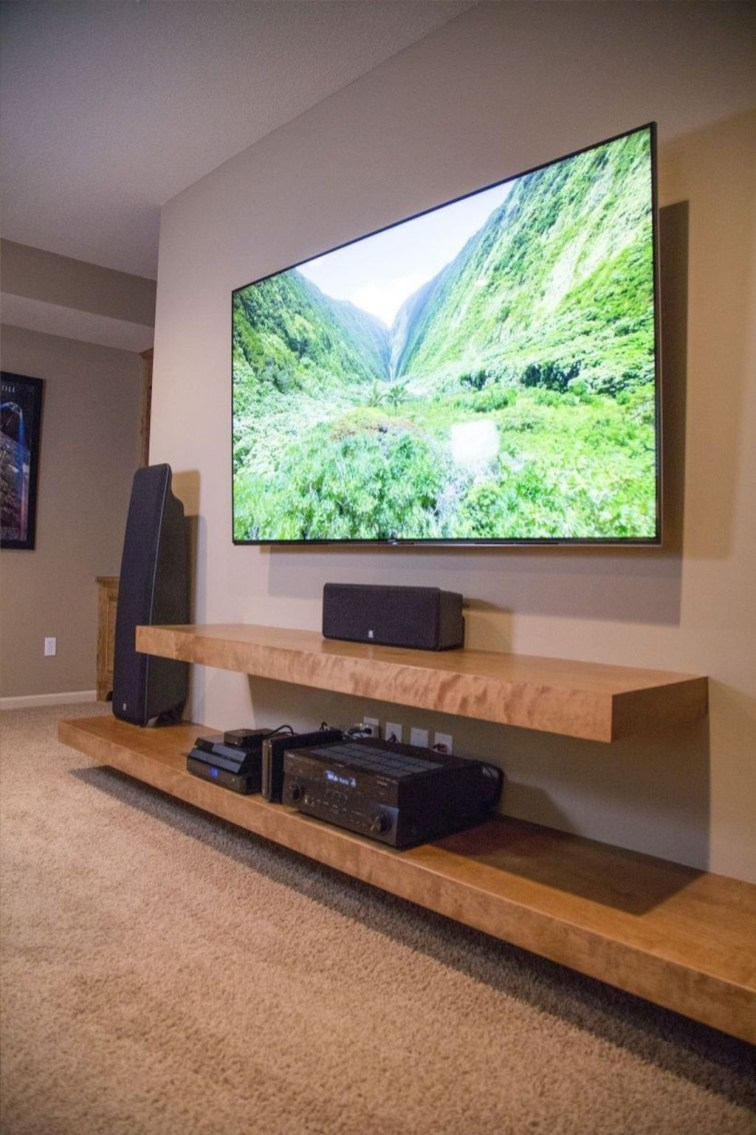 Unordinary Tv Stand Design Ideas For Small Living Room 38