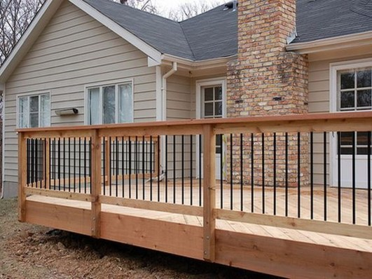 Admiring Deck Railling Ideas That Will Inspire You 21