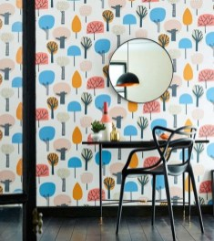 Awesome Retro Wallpaper Decor Ideas To Try 13
