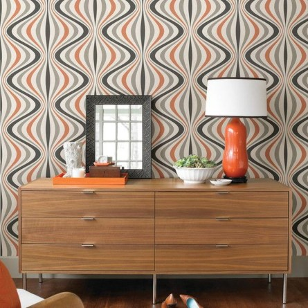 Awesome Retro Wallpaper Decor Ideas To Try 21