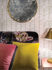 Awesome Retro Wallpaper Decor Ideas To Try 52