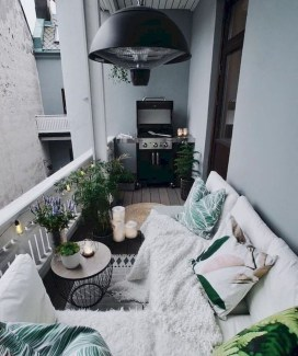 Comfy Kitchen Balcony Design Ideas That Looks Cool 01