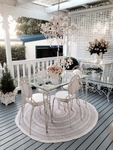 Comfy Kitchen Balcony Design Ideas That Looks Cool 12