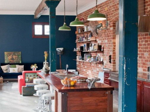 Delicate Exposed Brick Wall Ideas For Interior Home Design 06