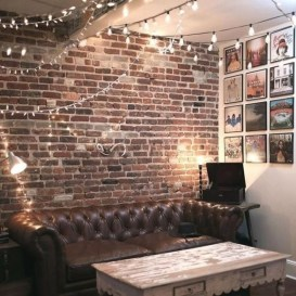 Delicate Exposed Brick Wall Ideas For Interior Home Design 18