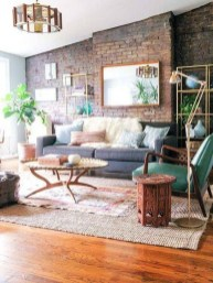 Delicate Exposed Brick Wall Ideas For Interior Home Design 41