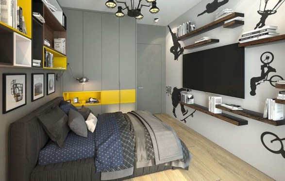 Excellent Teenage Boy Room Décor Ideas For You 46