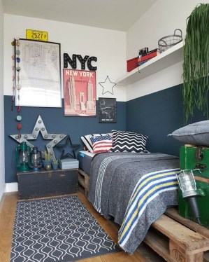 Excellent Teenage Boy Room Décor Ideas For You 47