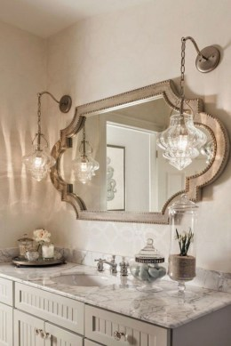 Newest Bathroom Mirror Decor Ideas To Try 40