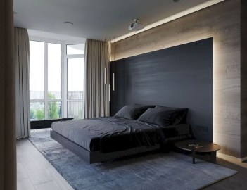 Top Blue Master Bedroom Design Ideas That Looks Great 48
