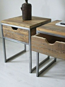 Trendy Wood Industrial Furniture Design Ideas To Try 16