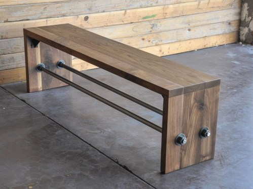 Trendy Wood Industrial Furniture Design Ideas To Try 48