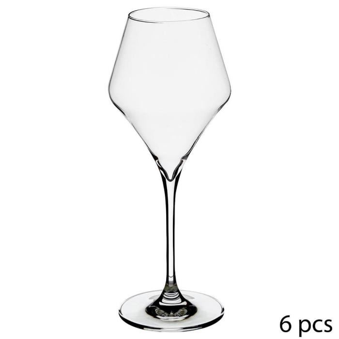 lot de 6 verres à vin