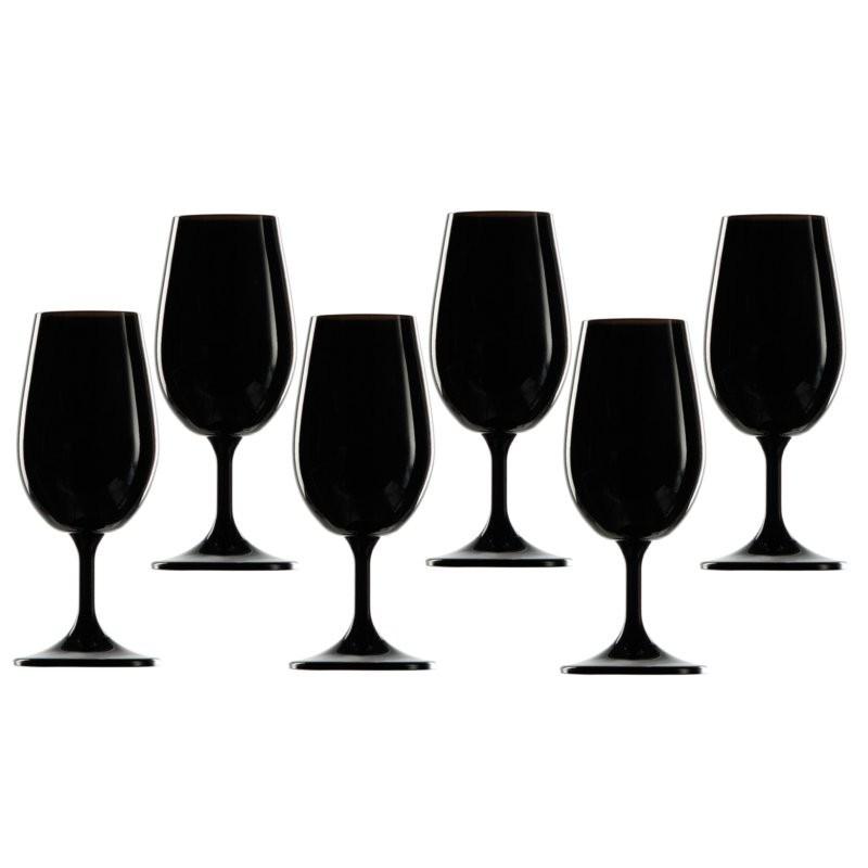 verre à vin noir inao