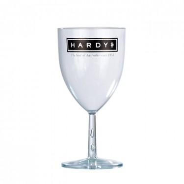 verre à vin plastique