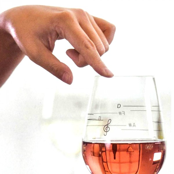 verre à vin musical