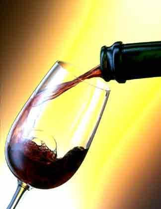 verre à vin restaurant