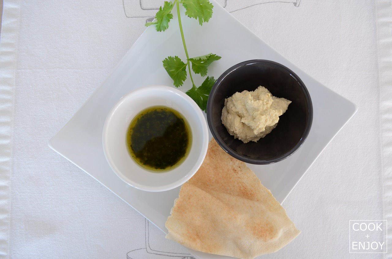Hummus-Kichererbsenmus
