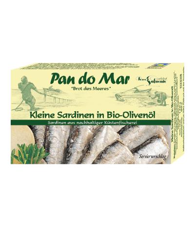 COOK and ENJOY Shop Sardinenfilets in Bio Olivenöl
