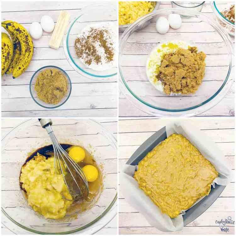 brown sugar banana cake ingredients