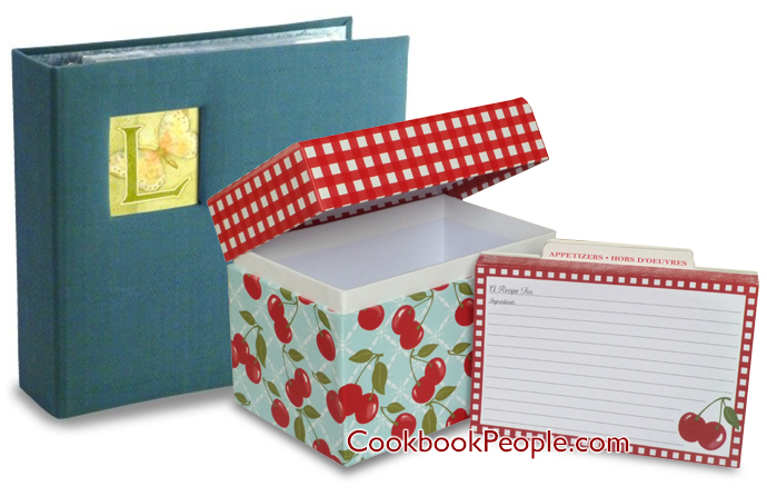Recipe Box and Binder