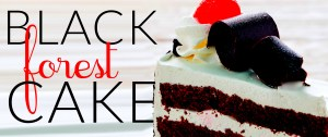 A new take on black forest cake